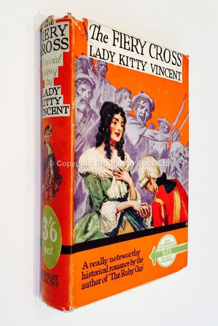 The Fiery Cross by Lady Kitty Vincent Early Reprint Herbert Jenkins